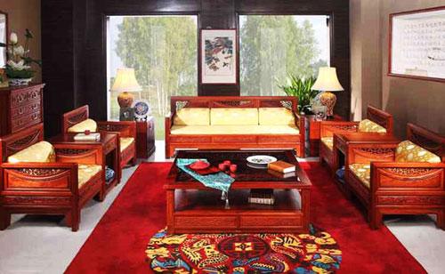 六招保养红木家具