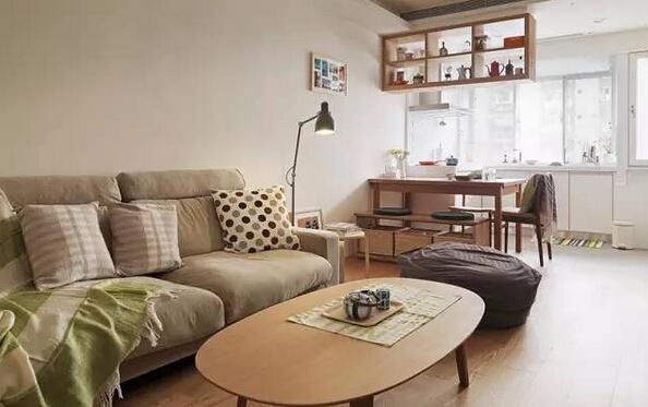 用muji范儿家具打造温馨小家