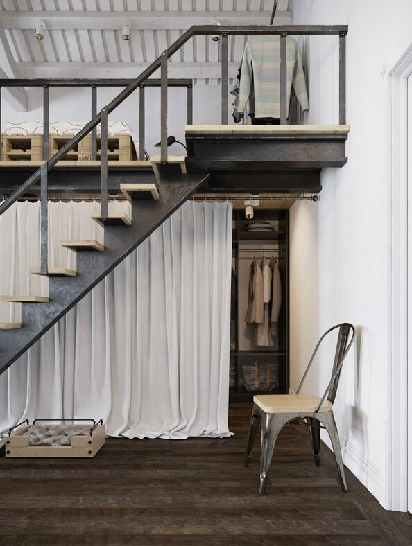 合的loft住宅设计