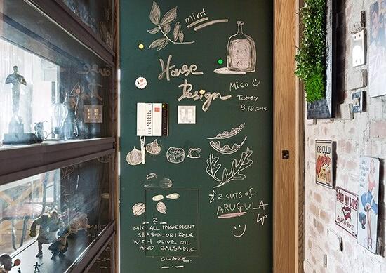 咖啡店黑板手绘