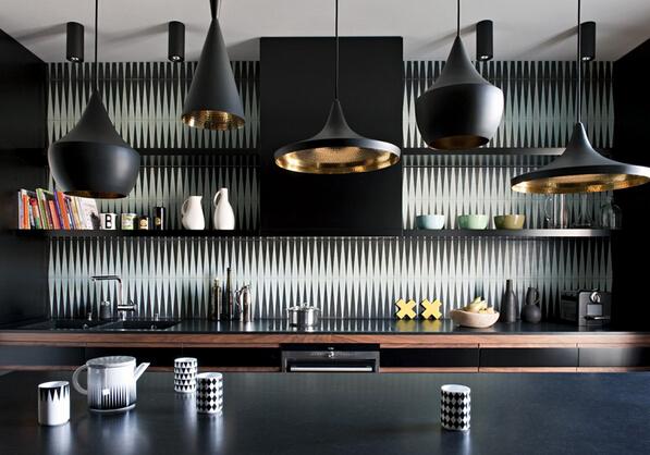 夏季小清新设计 巴黎蓝色现代公寓