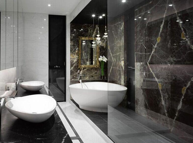 加拿大别墅浴室效果图