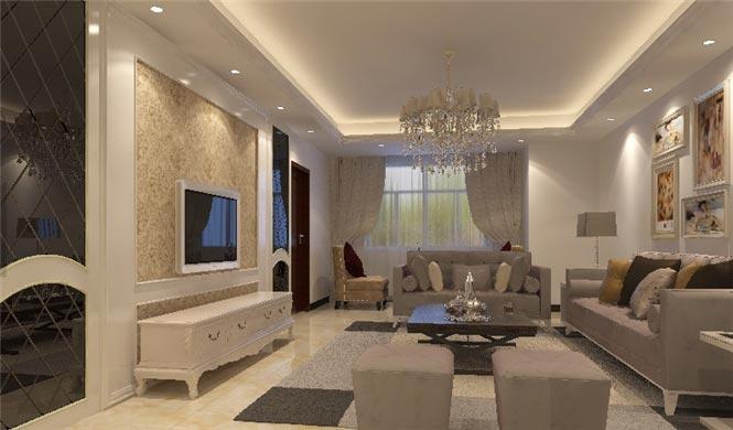 简欧客厅装修 色彩背后的经典组合