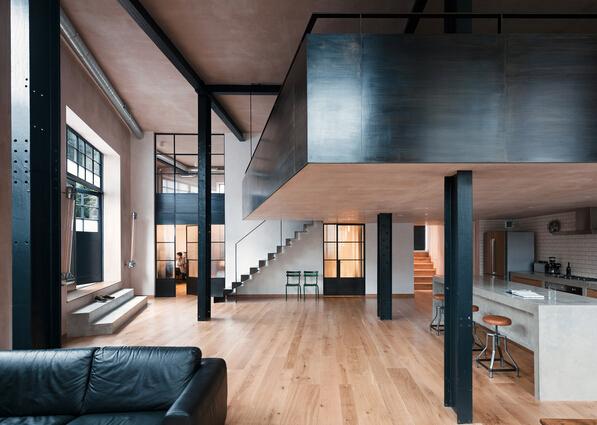 工业风loft住宅设计