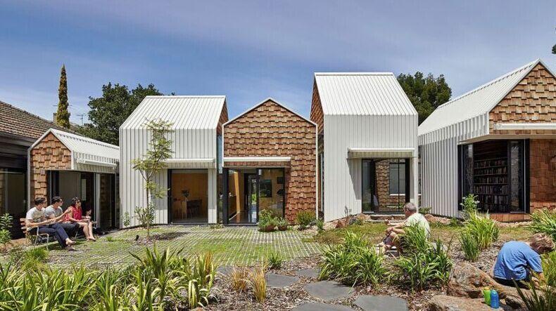 小形欧式房子外观图