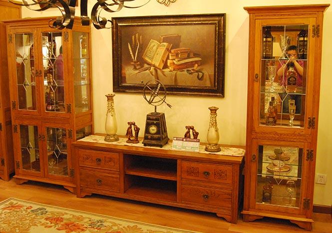 英伦古典风格悠闲BOSS经典家具