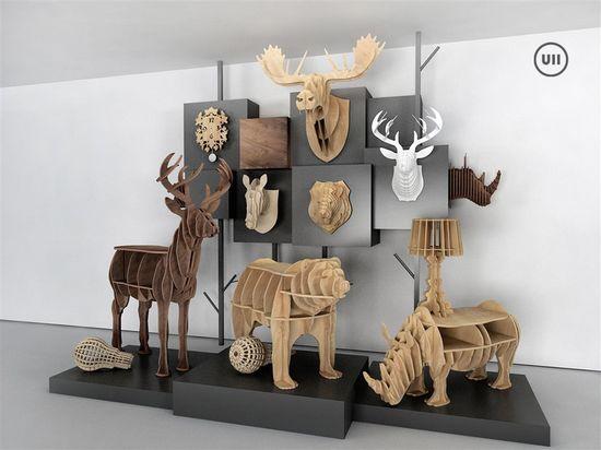 动物造型创意饰品 融入时尚及个性化追求图片