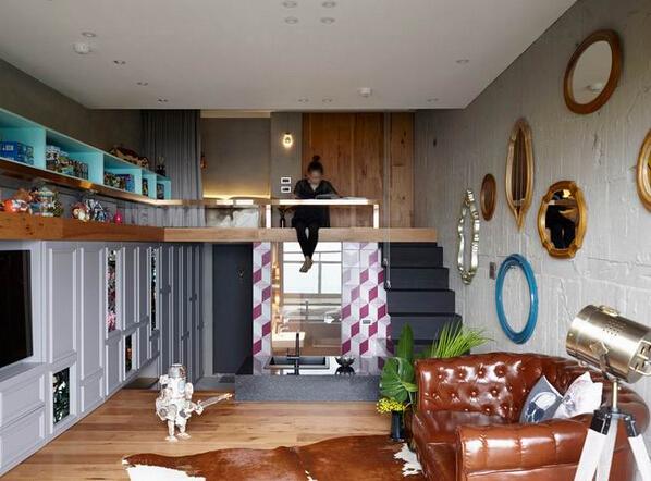 台北loft住宅设计