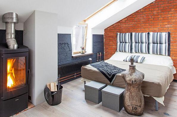 莫斯科40平米单身公寓设计