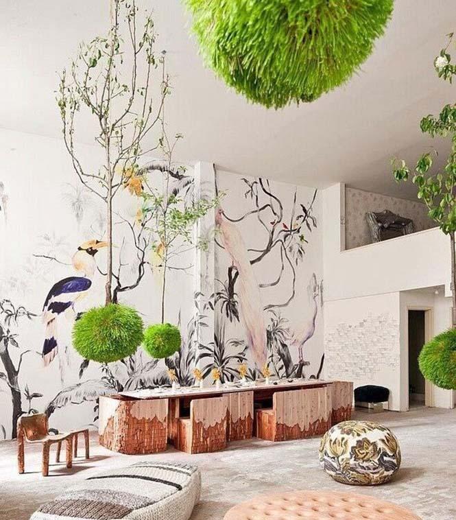 软装搭配当首选绿植 为家居空间带来健康活力